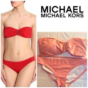 MICHAEL Michael Kors Swim - MICHAEL Michael Kors Pink Cruise 2018 Bikini NWT